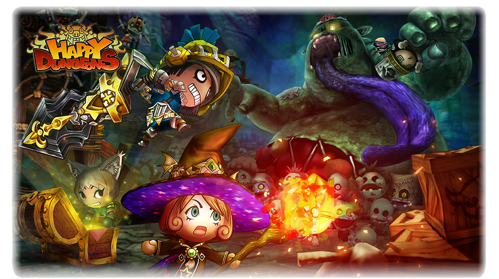 Happy Dungeons Official Site  Multiplayer Action RPG for Xbox One